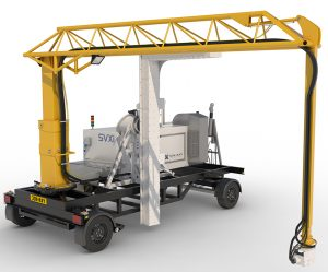 SVXi mobile x-ray car and van scanner