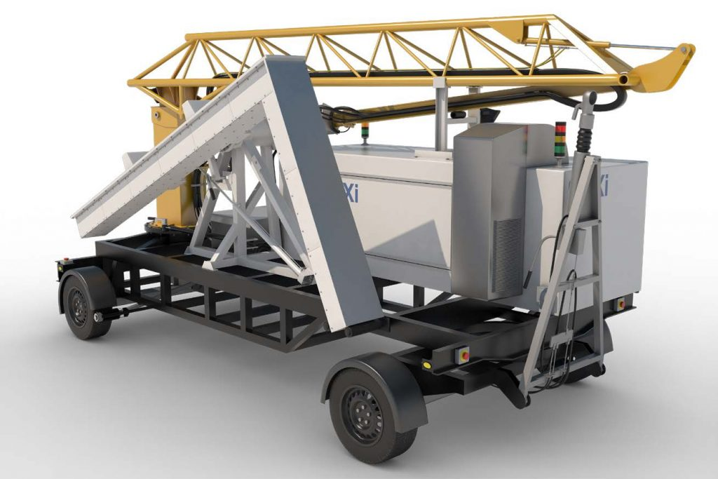 SVXi – for rapid deployment small vehicle x-ray inspection