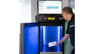 AXIS™-CXi is a cabinet based x-ray system for screening mail, parcels and small baggage for potentially harmful items and contraband.