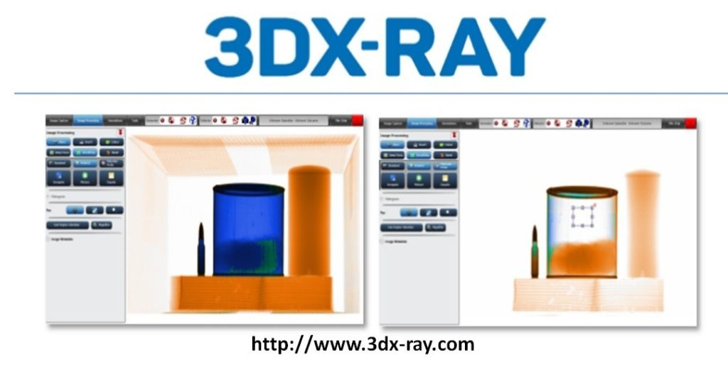 """3DX-Ray's """"Probe"""" function virtually peels away dense blocking layers allowing users to examine what is behind them"""
